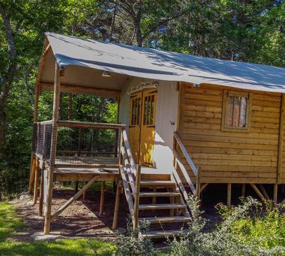 cabane lodge exterieur